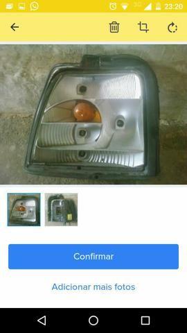 Lanterna placa perfeita circuito ok só não tem a lente!