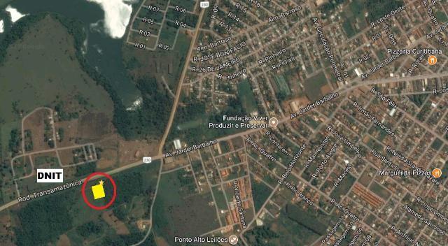 Terreno urbano em Altamira/PA - 900 m² (30 x 30) de esquina