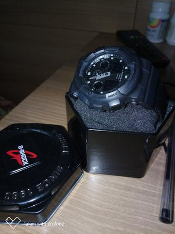 e6c8019bc52 Relógio Casio G-Shock Ga-100bbn-1 Pulseira Tecido Nylon - Foto 3