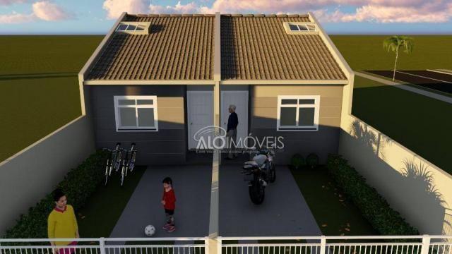 Casa com 2 dormitórios à venda, 41 m² por r$ 160.000 - campo de santana - curitiba/pr - Foto 7