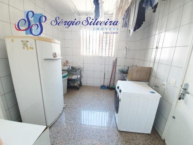 Apartamento na Aldeota com 4 suítes todas com closet, amplo e ventilado, nascente 4 vagas - Foto 12