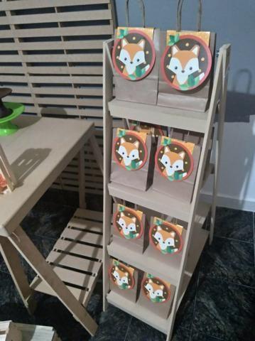 Kit Decoração Raposa - Aluguel - Foto 6