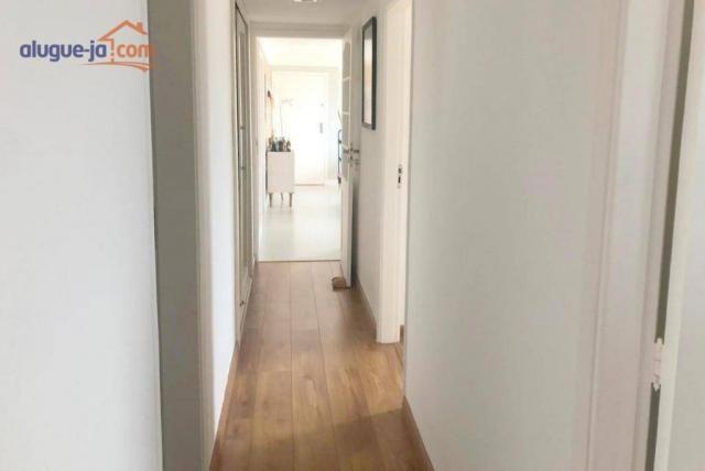 Apartamento com 3 dormitórios à venda, 120 m² por r$ 450.000 - vila adyana - são josé dos  - Foto 15