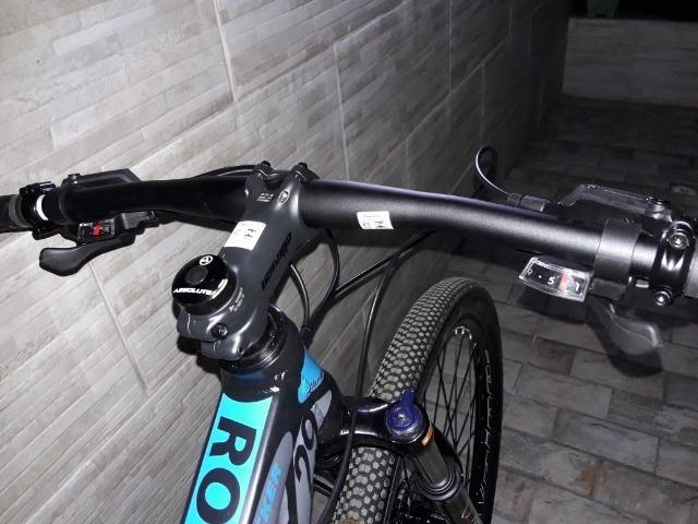 Bicicleta ellevem rock 27v Shimano niva - Foto 2