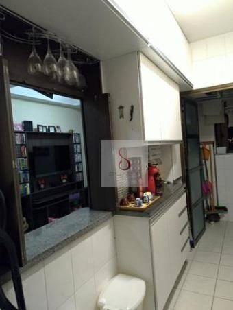 Apartamento com 3 dormitórios à venda, 74 m² por r$ 375.000 - urbanova - são josé dos camp - Foto 15