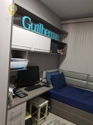 Excelente apartamento em bairro de fátima/jardim camburi 3 quartos - Foto 13
