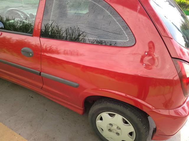 Celta GM Chevrolet vermelho - abaixo tabela - Foto 8