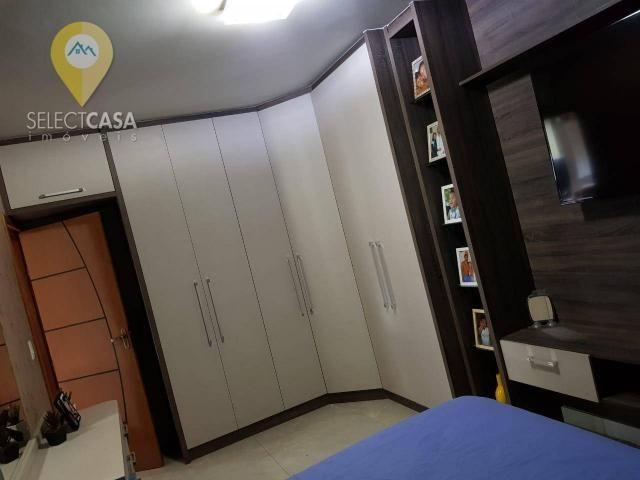 Excelente apartamento em bairro de fátima/jardim camburi 3 quartos - Foto 9
