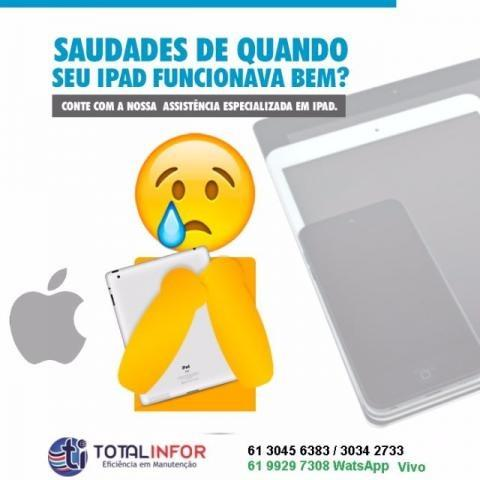 IPad vidro quebrado ou bateria viciada? Vidro iPad Air/Mini- Asa Norte - Taguatinga - Foto 3