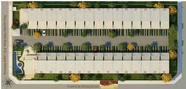 CA0042 - Casa á venda com 96m² - 3 quartos - Lagoa Redonda - 295mil - Fortaleza/CE - Foto 6