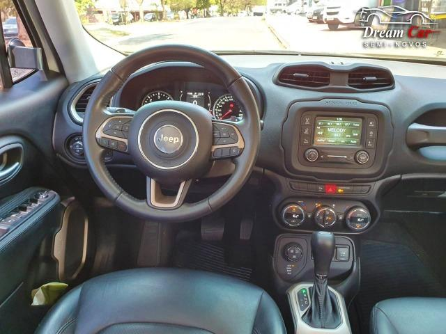 Jeep Renegade Longitude 2.0 16v turbo diesel 4x4 aut 7 air bag único dono 2016 - Foto 9