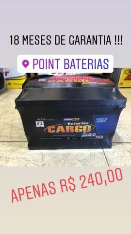 Bateria 60 ah Cargo 18 meses de garantia igual moura por apenas R$ 240,00 - Foto 2