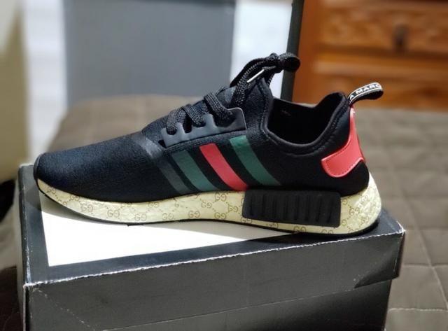 new products 385f8 6e12b Adidas nmd xr1 Gucci