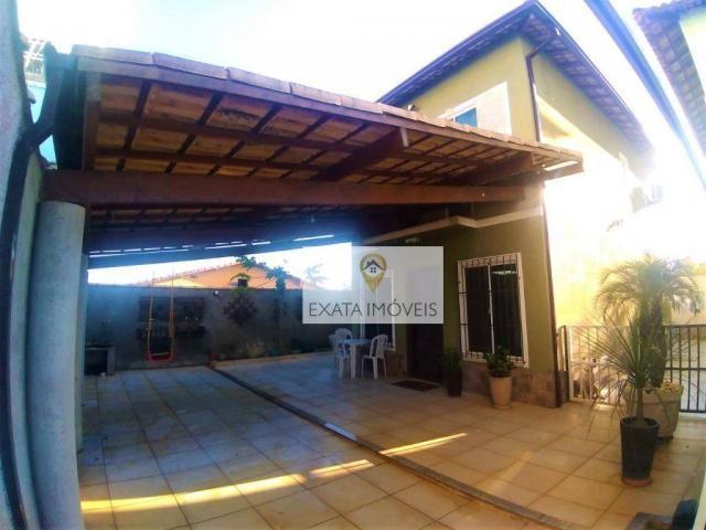 Casa duplex 03 quartos (não geminada) condomínio/amplo quintal, Marilea/Rio das Ostras. - Foto 3