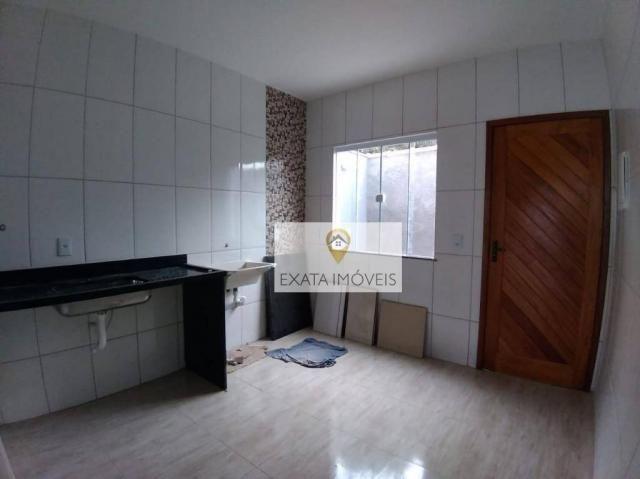 Lançamento! Casas lineares com bom quintal, Extensão Serramar/Rio das Ostras. - Foto 7