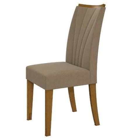 Conjunto Sala de Jantar Mesa Tampo MDF/Vidro 6 Cadeiras - Foto 3