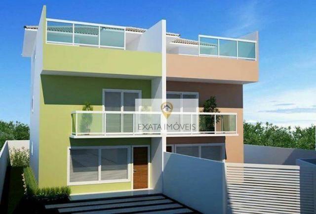 Lançamento! Casas triplex 03 suítes, terraço/piscina, Recreio, Rio das Ostras. - Foto 2