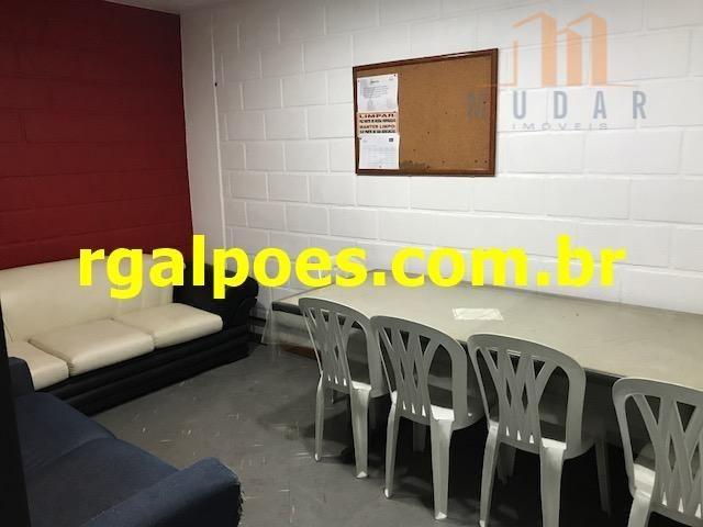 Galpão 650m², 5 salas, 6 banheiros, elevador industrial e recepção - Foto 18