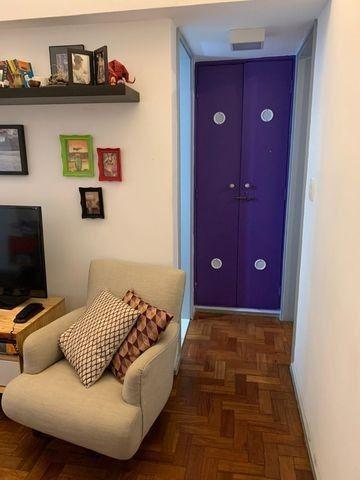 Leblon - Apto com sala, 1 quarto e dependências completas - Foto 3