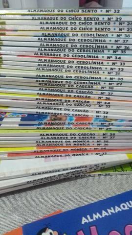Coleção almanaque turma da Mônica - Foto 2
