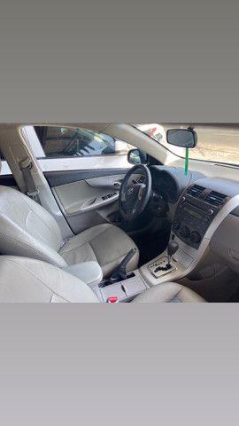 Corolla 2013/2014 GLI 1.8 automático banco couro muito conservado valor 53,900 - Foto 6