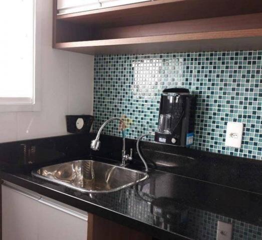 Apartamento com 2 dormitórios para alugar, 76 m² por R$ 3.000,00/mês - Tupi - Praia Grande - Foto 20