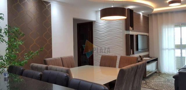 Apartamento com 2 dormitórios para alugar, 76 m² por R$ 3.000,00/mês - Tupi - Praia Grande - Foto 6