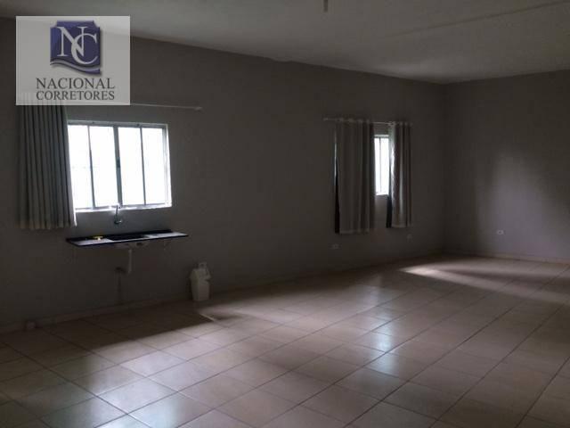 Kitnet com 1 dormitório para alugar, 50 m² por R$ 800,00/mês - Bangu - Santo André/SP - Foto 4