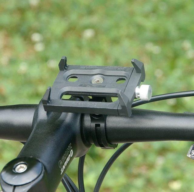 Suporte para smartphone bike moto em alumínio aéreo e ABS ultra resistente - Foto 5