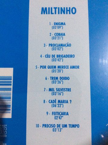 Cd Miltinho (MPB-4) - Enigma - Foto 2