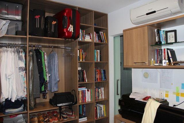 AL117 Apartamento 1 Quarto Suíte+Closet+Escritório, Depen, 3 Wc, 2 Vagas, 94m², Boa Viagem - Foto 8