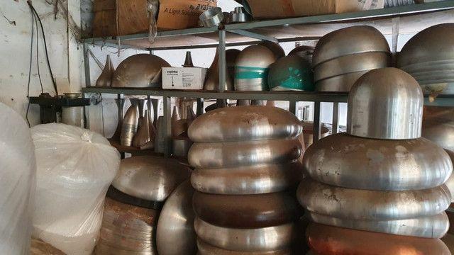 Queima de estoque! Vendem-se vários repuxos de alumínio para confecção de luminárias - Foto 2