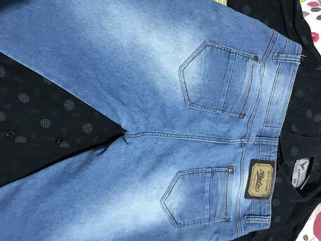 Calça jeans 42 em perfeito estado - Foto 3