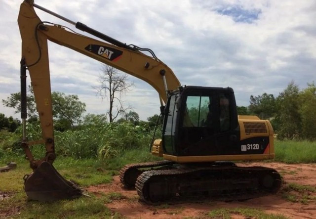 Escavadeira Hidráulica Cat 312 dl ( Parcelada)