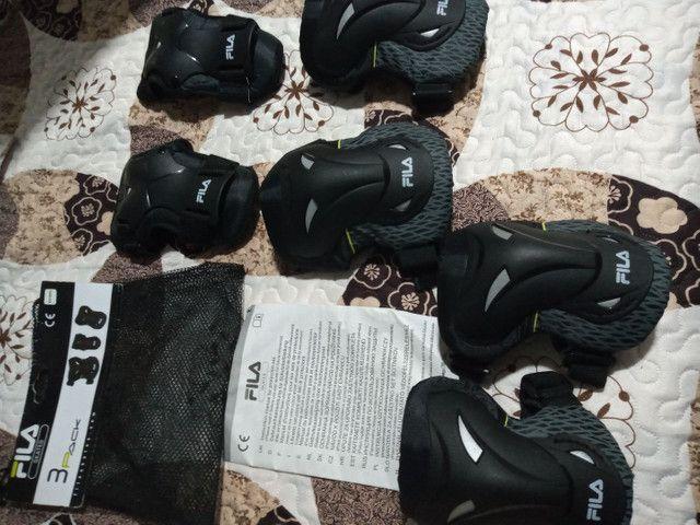Kit proteção Fila tamanho G - Foto 3