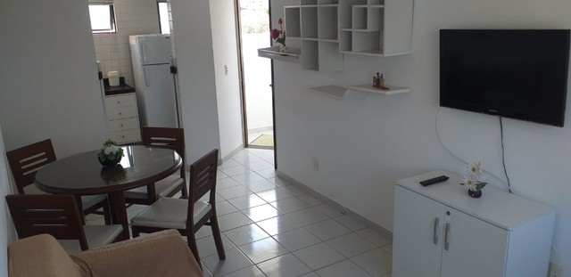 Excelente apto 2 quartos/2 BWs, mobiliado, no Cabo Branco, 1 quadra da praia. - Foto 3