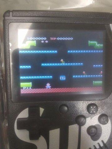 Vídeo game retro com 400 jogos  - Foto 4