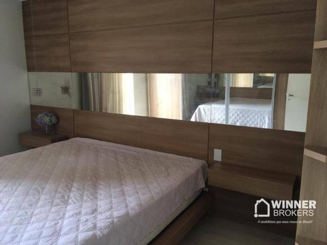 Lindo apartamento mobiliado à venda no novo centro de Cianorte! - Foto 11