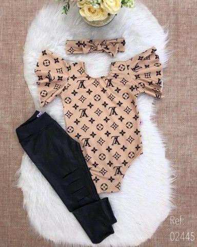 Conjunto Infantil Menina Moda Blogueira