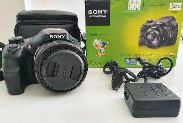 Câmera Semiprofissional Sony DSC-HX300 + Cartão 8Gb