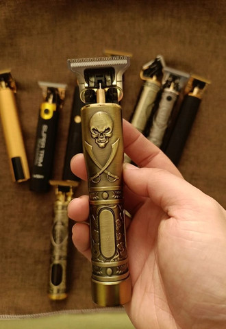 Máquina de Cortar Cabelo Barba Recarregável USB Entregamos Grátis