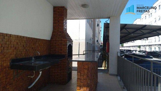 Apartamento com 2 dormitórios para alugar, 44 m² por R$ 809,00/mês - Vila Velha - Fortalez - Foto 6
