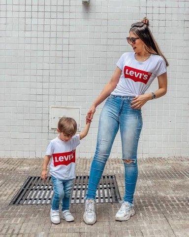 T-shirt mãe e filho(a)  - Foto 6