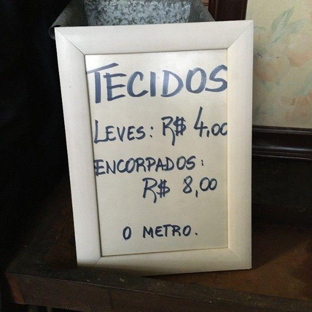 Tecidos vendidos à metro alfaiataria, camisaria, cortinas - Foto 2