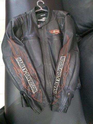 Vendo Jaqueta Harley Davidson e Relógio Bulova!! - Foto 4