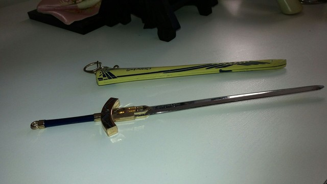 pingente espada cheveiro..22 cm