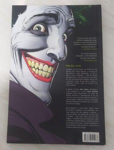 Batman coringa a piada mortal história em quadrinhos - Foto 3