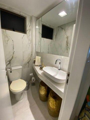 Edf Via Tazolli Setubal/129m/3 suites/capa de revista/luxo/3 vagas/lazer. - Foto 15