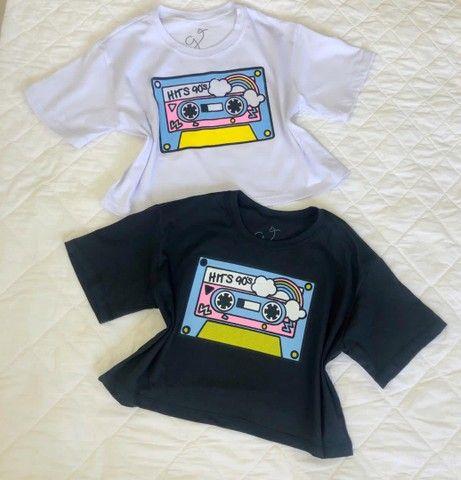 Blusas Femininas T-Shirt - Foto 6