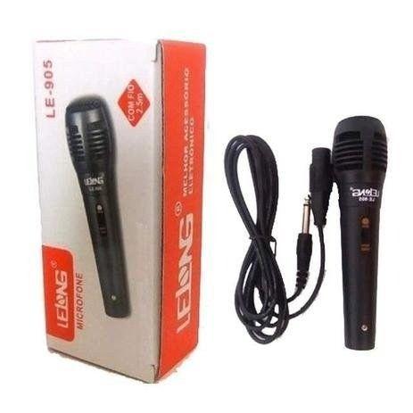 Microfone com fio 1,5m le-905